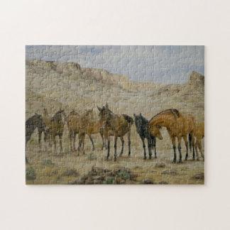 Rompecabezas de la manada del caballo