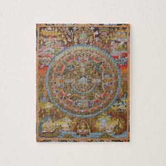 Rompecabezas de la mandala de la vida de Buda