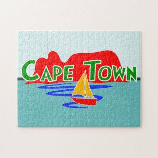 Rompecabezas de la montaña de la tabla de Cape