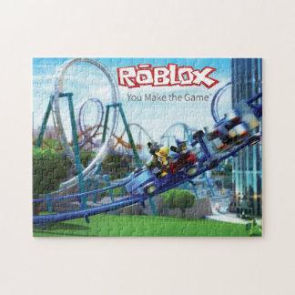 Rompecabezas de la montaña rusa de ROBLOX