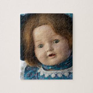 Rompecabezas de la muñeca del vintage