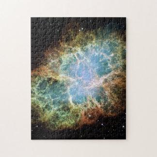 Rompecabezas de la nebulosa de cangrejo