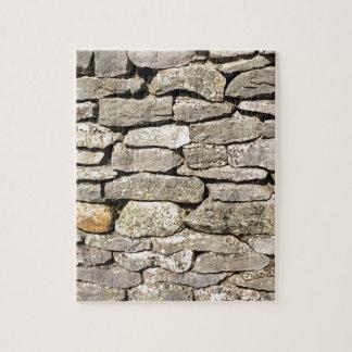 Rompecabezas de la pared de piedra