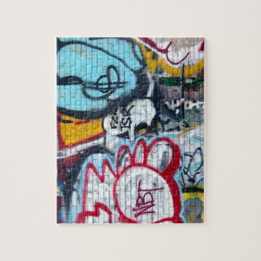 Rompecabezas de la pintada de Manhattan