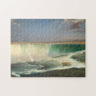 Rompecabezas de la pintura de Niagara Falls