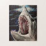 Rompecabezas de la pintura del tiburón de Mako