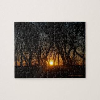 Rompecabezas de la puesta del sol
