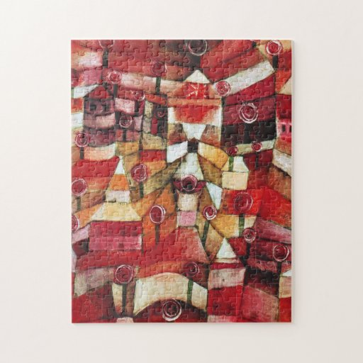 Rompecabezas de la rosaleda de Paul Klee