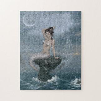 Rompecabezas de la sirena de la marea de la luna