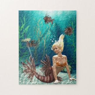 Rompecabezas de la sirena del Lionfish