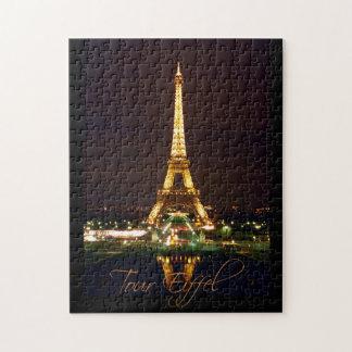 Rompecabezas de la torre Eiffel