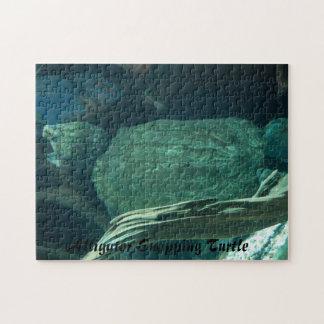 Rompecabezas de la tortuga de rotura de cocodrilo