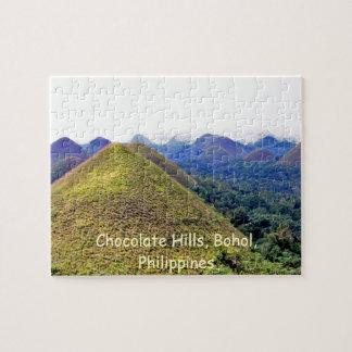 Rompecabezas de las colinas del chocolate