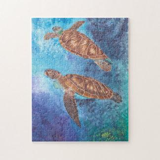 Rompecabezas de las tortugas de mar