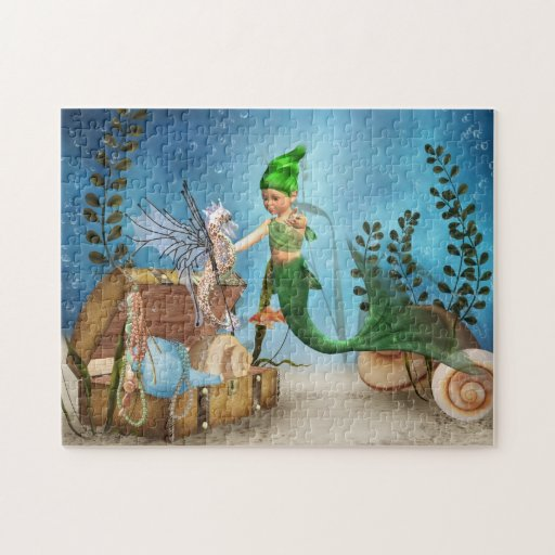 Rompecabezas de little mermaid 4