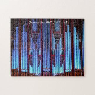 Rompecabezas de los azules del órgano