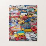 Rompecabezas de los coches y de los camiones del j