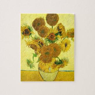 Rompecabezas de los girasoles de Van Gogh