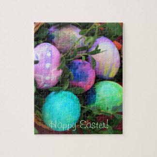 Rompecabezas de los huevos de Pascua