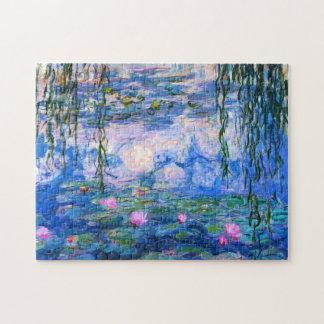 Rompecabezas de los lirios de agua de Monet