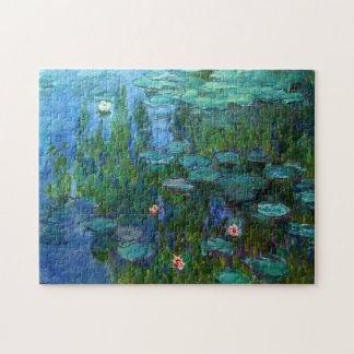Rompecabezas de los lirios de agua de Monet Nymphe