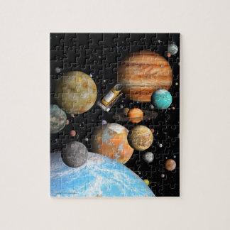 Rompecabezas de los mundos de Kepler