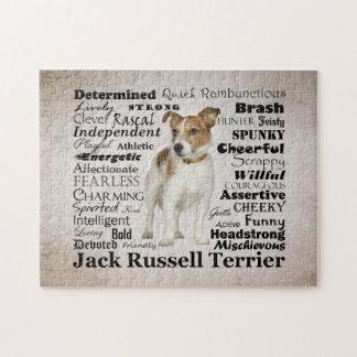 Rompecabezas de los rasgos de Jack Russell