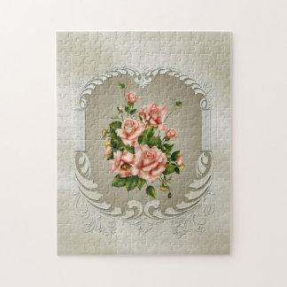 Rompecabezas de los rosas del Victorian