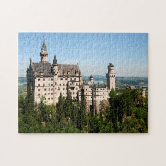 Rompecabezas de Neuschwanstein del castillo