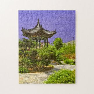 Rompecabezas de ocultación del templo chino