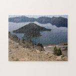 Rompecabezas de Oregon del lago crater