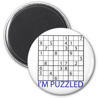Rompecabezas de Sudoku Imán Para Frigorífico