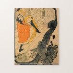 Rompecabezas de Toulouse-Lautrec - de Jane Avril