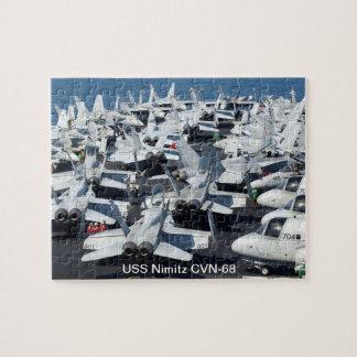 Rompecabezas de USS Nimitz CVN-68