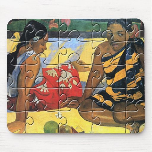 Rompecabezas de Vahine de Gauguin Tapete De Ratón