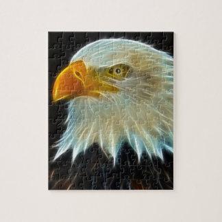 Rompecabezas del águila calva