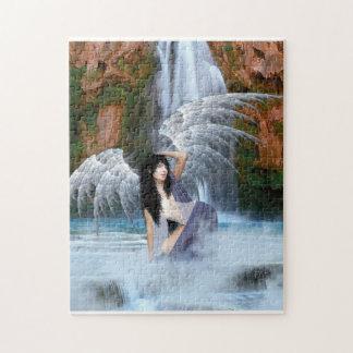 Rompecabezas del ángel del agua