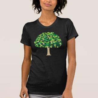 Rompecabezas del árbol de familia t-shirt