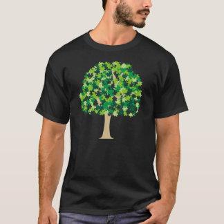 Rompecabezas del árbol de familia playera