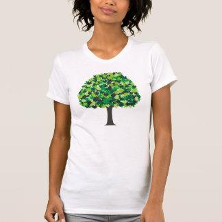 Rompecabezas del árbol de familia t shirts