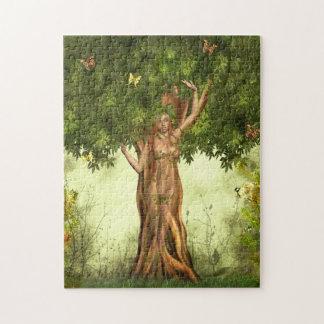 Rompecabezas del árbol de la madre naturaleza