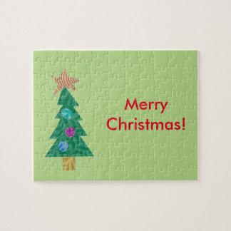 Rompecabezas del árbol de navidad