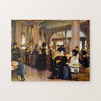 Rompecabezas del arte 1889 del vintage del Shoppe