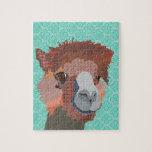 Rompecabezas del arte de la alpaca
