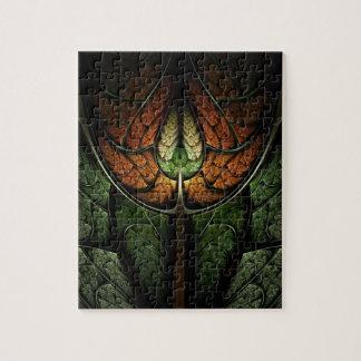 Rompecabezas del arte del fractal: Bosque de Elven