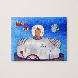 Rompecabezas del astronauta de TinCan
