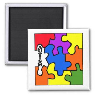 Rompecabezas del autismo iman