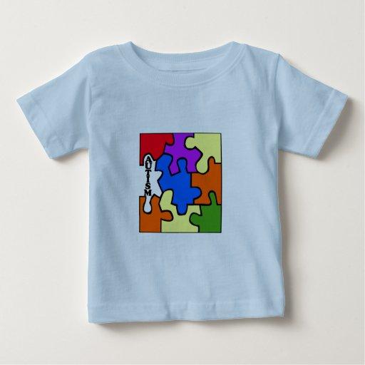 Rompecabezas del autismo playera