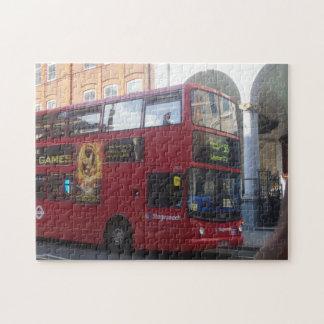 Rompecabezas del autobús del autobús de dos pisos