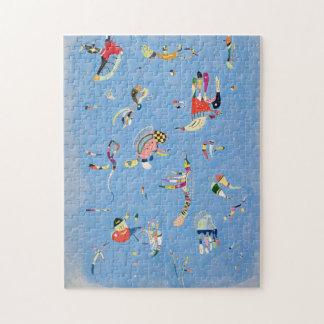 Rompecabezas del azul de cielo de Kandinsky